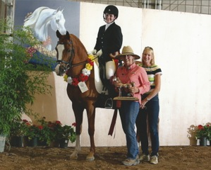 All Aflame Dressage Win 2012